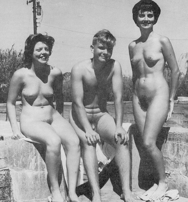 Love CGI! Vintage naturist galleries