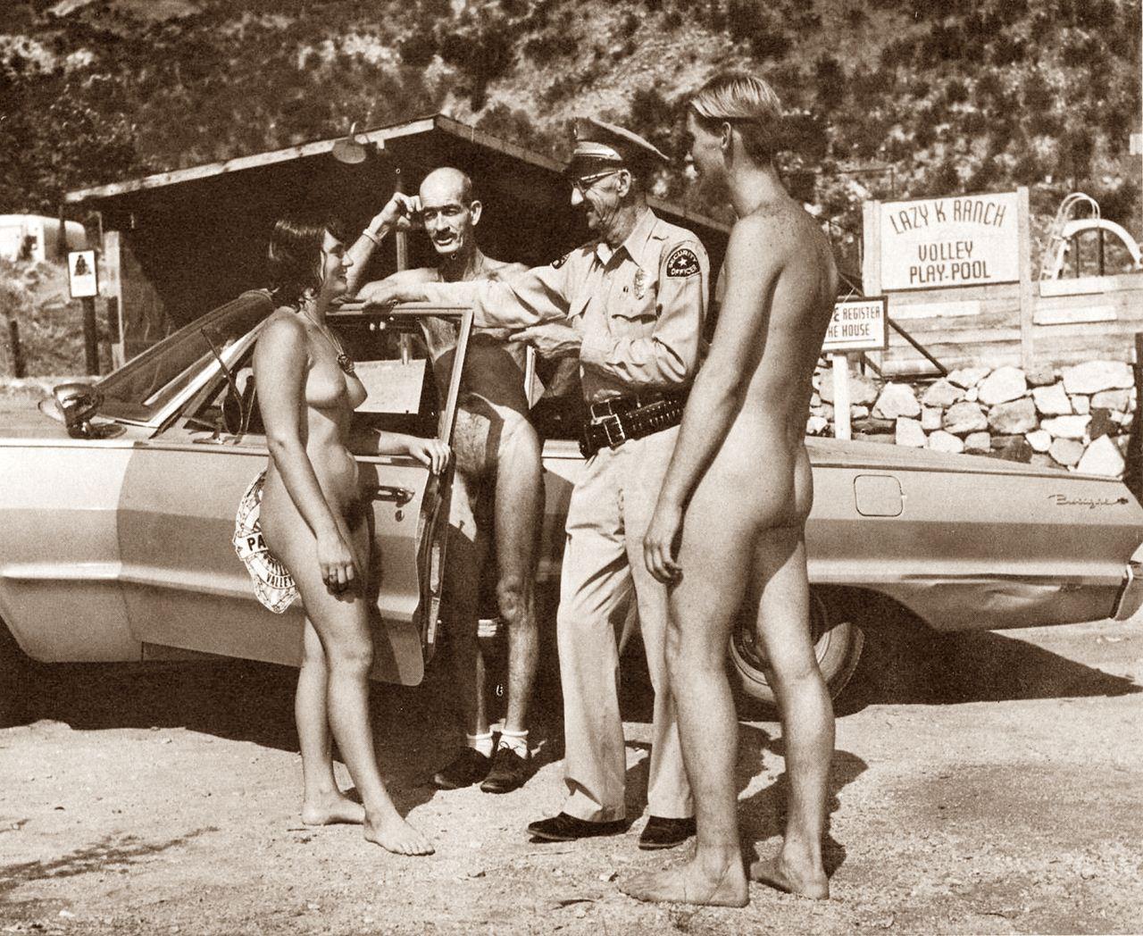 Nudist colony 1950 s uk