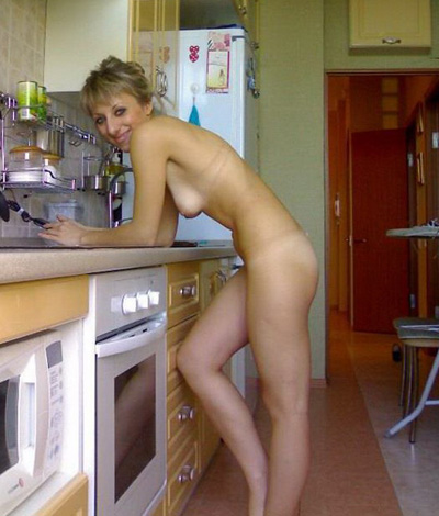 embarrassed naked around the house