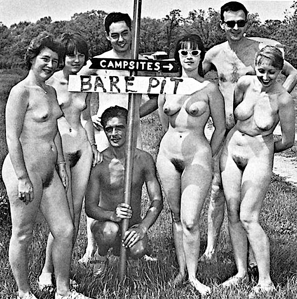 families Retro nudist