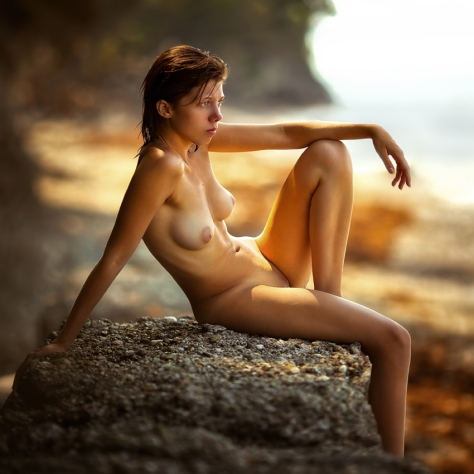 красивая стройная голая художественное фото