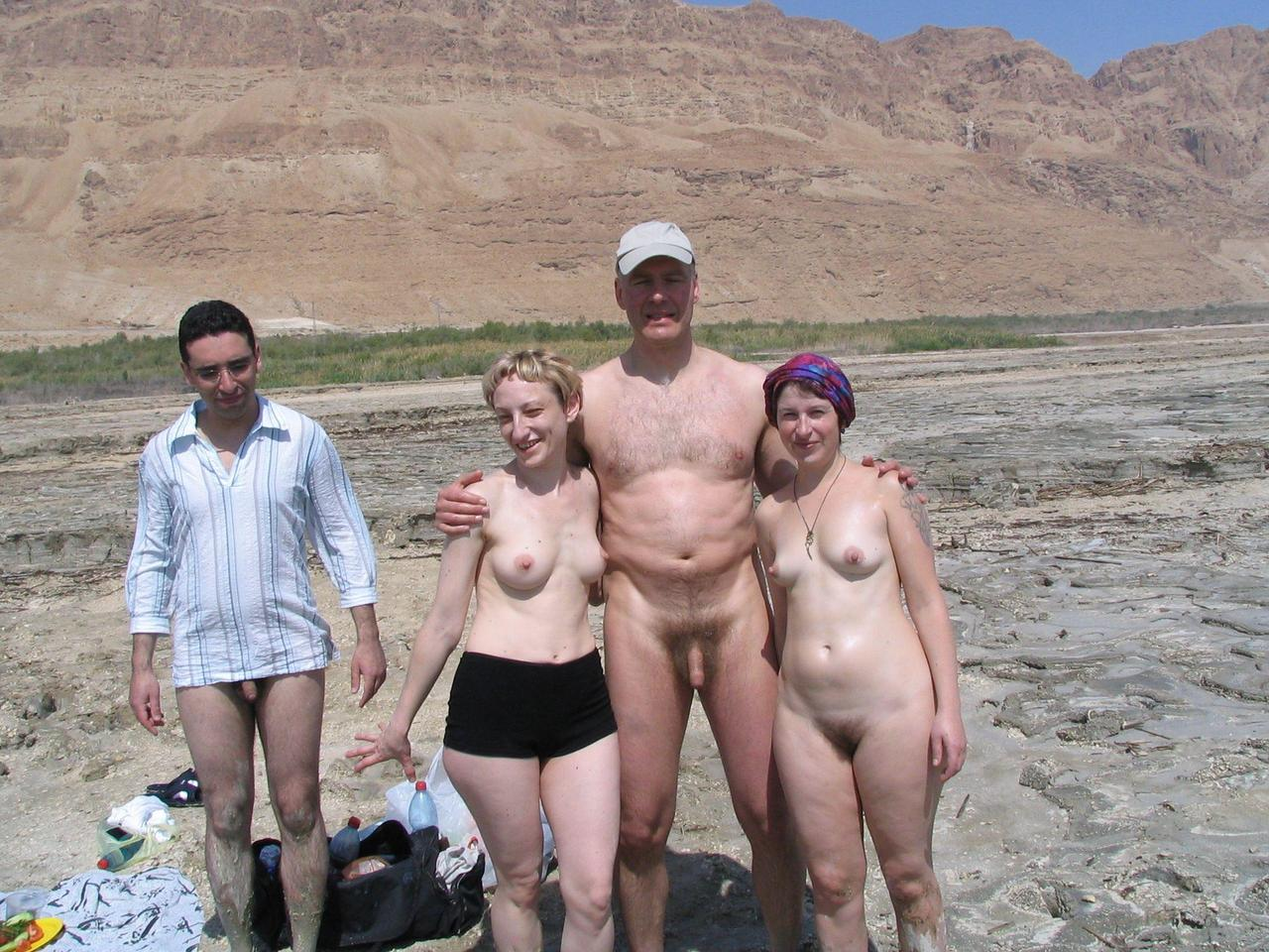 Hikers nude girl groups