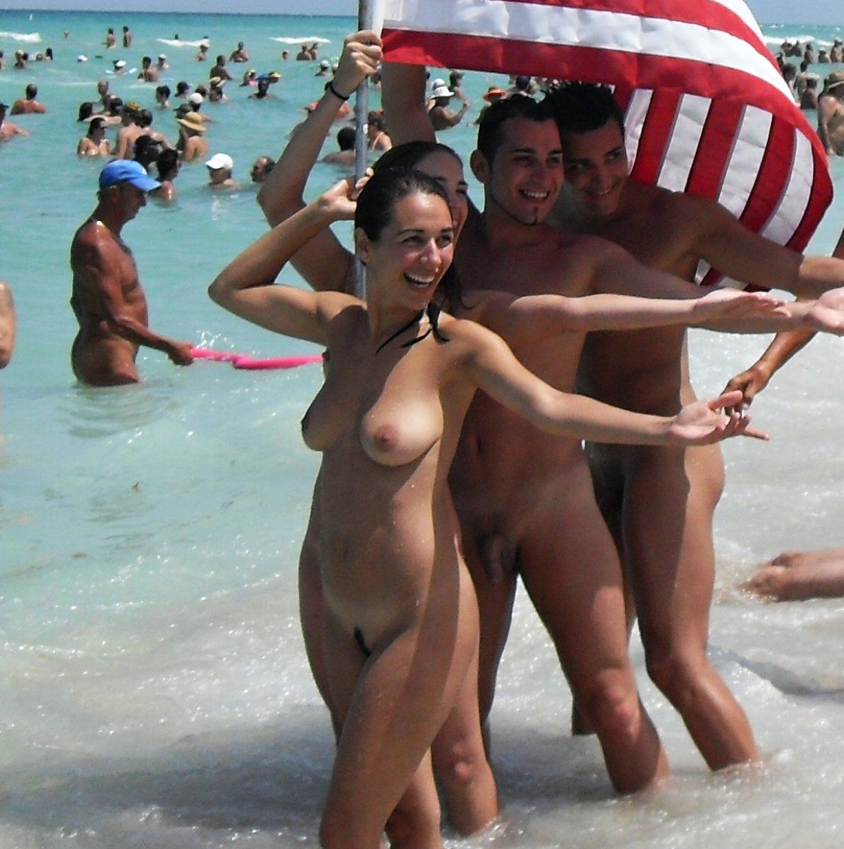 Anyone beach blog nudist pretty big