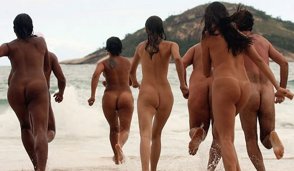 Brazil nude beach women agree, this