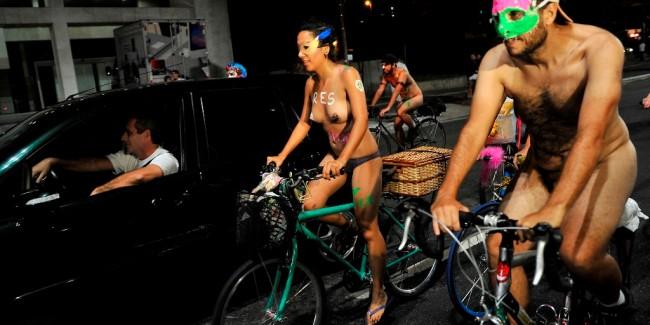 Naked Bike in São Paulo